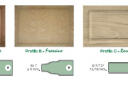"WOOD LAMINATED PANELS FOR INSIDE ""INTERIOR LINE"" A,B AND C"