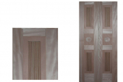 Wood laminates on frames upon request