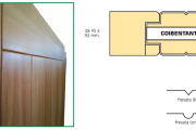 SPECIAL PANELS FOR DOORS WITH COMPLANAR EFFECT