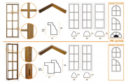 P9 Fermavetri per serramenti interni/esterni
